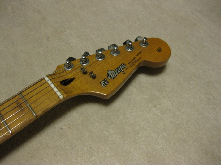Dating late 70's stratocaster